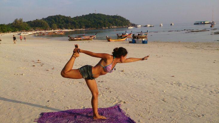 Yoga in Koh Lipe, Thailand