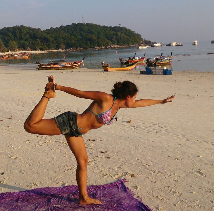 Yoga in Koh Lipe, Thailand