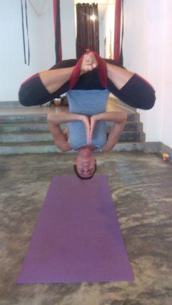 Fly Yoga in Phnom Penh, Cambodia
