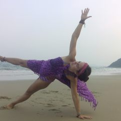 Yoga in Quan Land Island (North Vietnam)